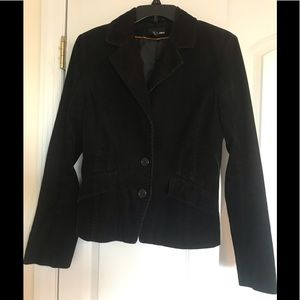 H&M black corduroy  blazer